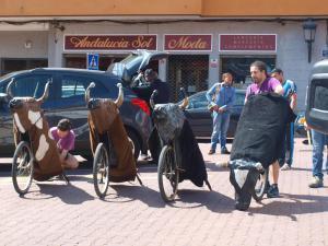 Encierro Infantil Toro Segovia